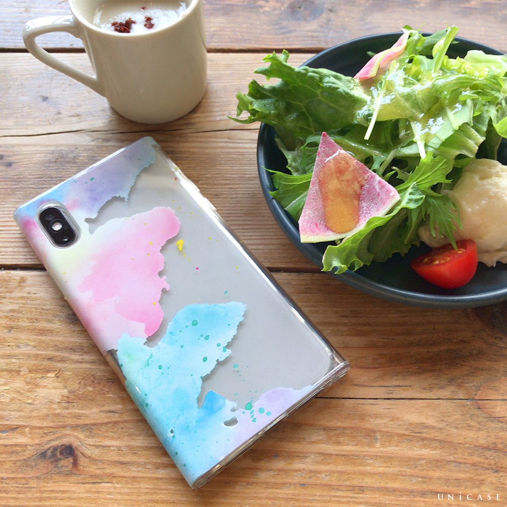 【iPhoneXS/X ケース】Louna Collections watercolor for iPhoneXS/X (pale)サブ画像