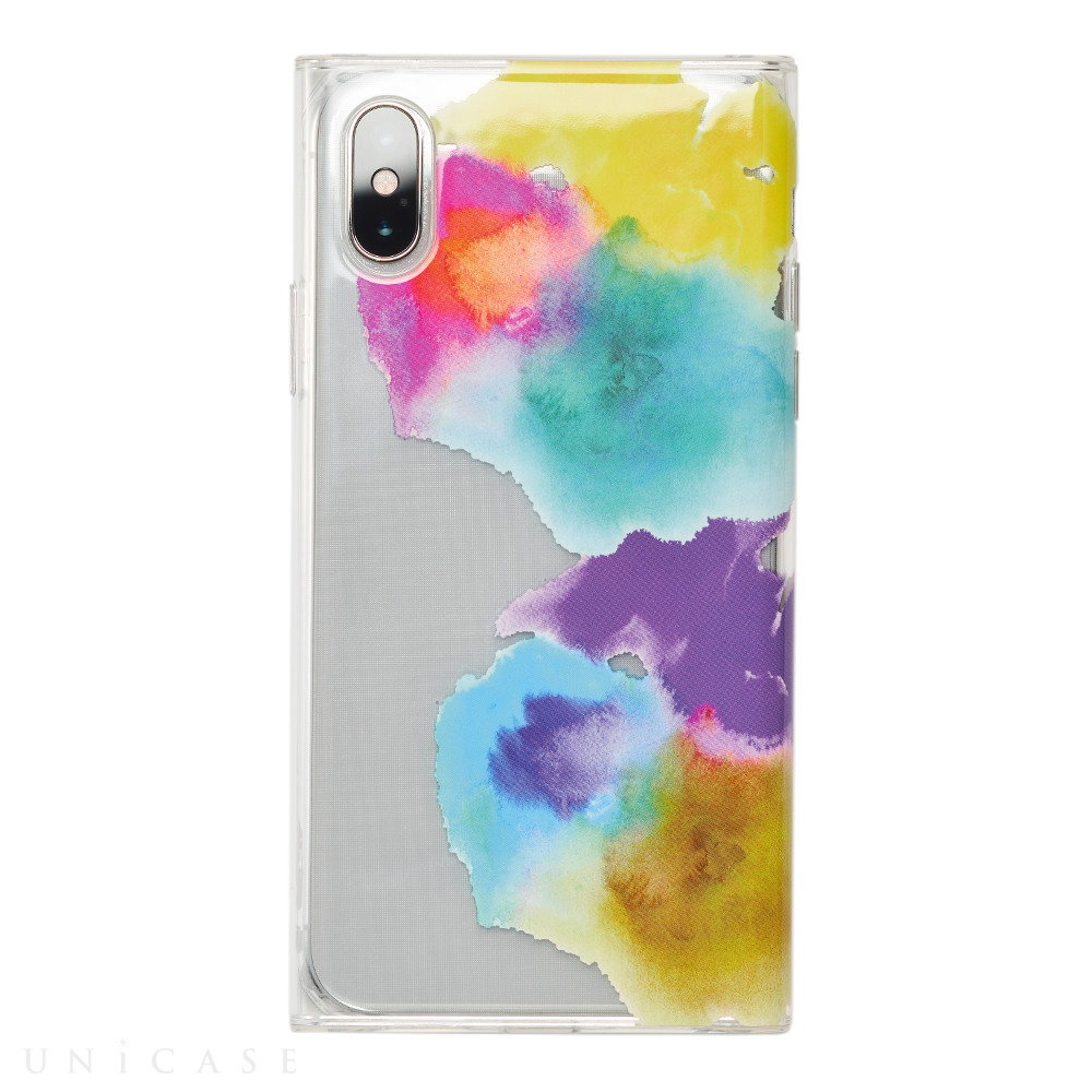 【iPhoneXS/X ケース】Louna Collections watercolor for iPhoneXS/X (vivid)