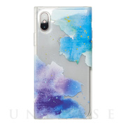 【iPhoneXS/X ケース】Louna Collections Water Color for iPhoneXS/X (night)
