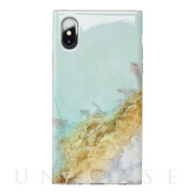 【iPhoneXS/X ケース】Maelys Collections Marble for iPhoneXS/X (Mint)