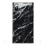 【iPhoneXS/X ケース】Maelys Collections Marble for iPhoneXS/X (Black)