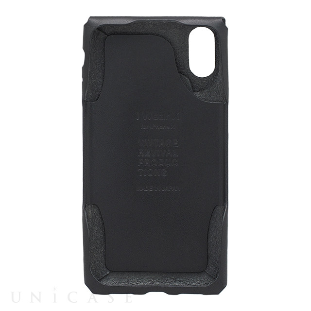 【iPhoneXS/X ケース】iWearX (Black)