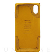 【iPhoneXS/X ケース】iWearX (Yellow)