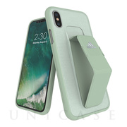 【iPhoneXS/X ケース】Grip Case (Aero Green)