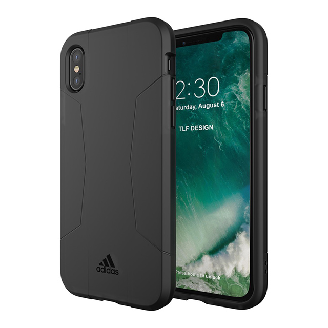 【iPhoneXS/X ケース】Agravic Case (Black)