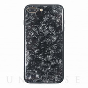 【iPhone8 Plus/7 Plus ケース】GLASS PEARL CASE (Black)