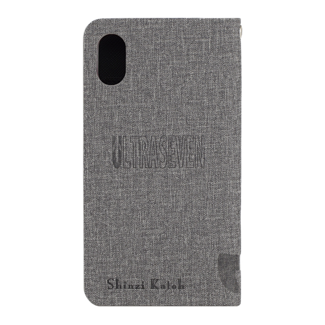 【iPhoneXS/X ケース】ULTRA MONSTERS COLLECTION BY SHINZI KATOH ウォレットケース for iPhoneXS/X (ULTRA SEVEN)サブ画像