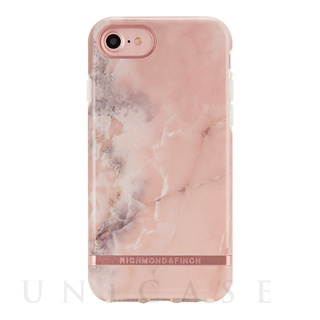【iPhone8/7/6s/6 ケース】PINK MARBLE