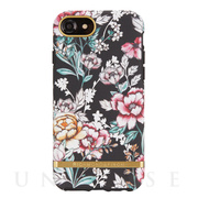 【iPhone8/7/6s/6 ケース】BLACK FLORAL