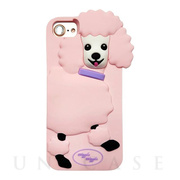 【iPhone8/7/6s/6 ケース】シリコンケース (Poodle)