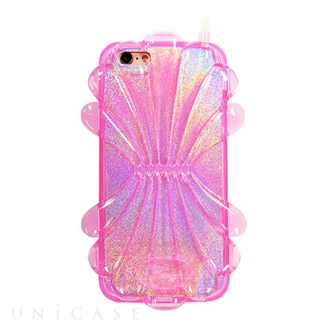 【iPhone8/7/6s/6 ケース】ソフトケース (Shell Pink Sapphire)