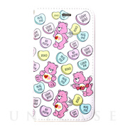 【iPhone8/7/6s/6 ケース】Care Bears × ViVi ダイアリーケース (CANDYHEARTS)