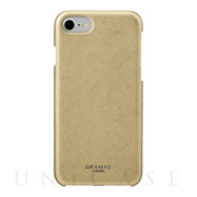 "【iPhone8/7/6s/6 ケース】""Quadrifoglio"" Shell PU Leather Case (Champagne Gold)"