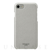 "【iPhone8/7/6s/6 ケース】""Quadrifoglio"" Shell PU Leather Case (Platinum Silver)"
