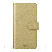 "【マルチ スマホケース】""Quadrifoglio"" Multi PU Leather Case for Smartphone (Champagne Gold)"
