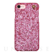 【iPhone8/7/6s/6 ケース】GLITTER CHAIN CASE (Pink)