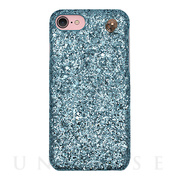 【iPhone8/7/6s/6 ケース】GLITTER CHAIN CASE (Ariel Blue)