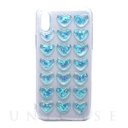【iPhoneXS/X ケース】HOLIC CASE Heart (Blue)