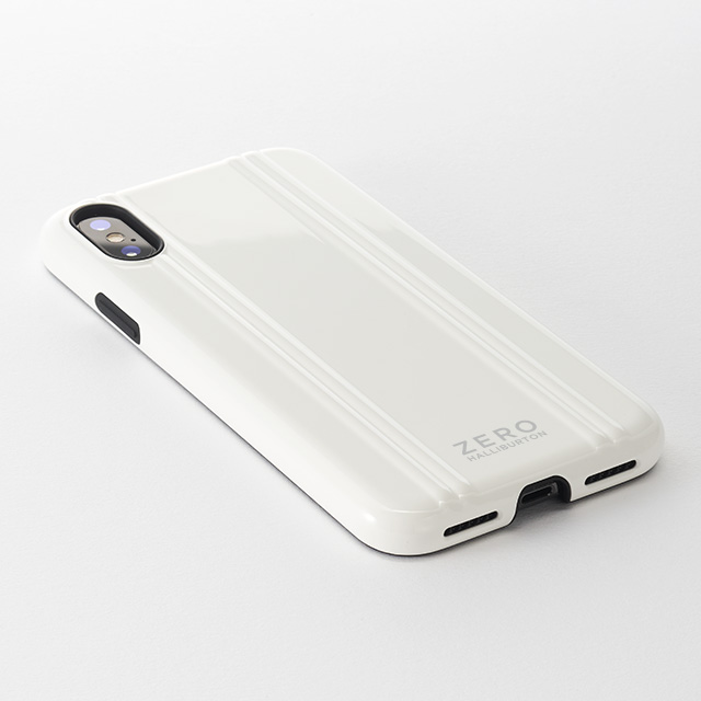 【iPhoneXS ケース】ZERO HALLIBURTON Hybrid Shockproof case for iPhoneXS (Black)サブ画像