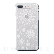 【iPhone8 Plus/7 Plus ケース】Soft Lighting Clear Case Fireworks (ゴールド)