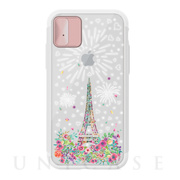 【iPhoneXS/X ケース】Lighting Shield Case Landmark Paris (ローズゴールド)