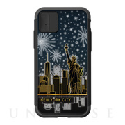 【iPhoneXS/X ケース】Lighting Shield Case Landmark New York B (ブラック)