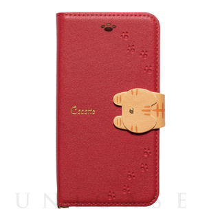 【iPhone8/7/6s/6 ケース】手帳型ケース Cocotte (Red)