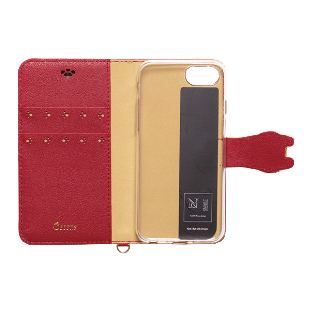 【iPhone8/7/6s/6 ケース】手帳型ケース Cocotte (Red)サブ画像