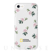 【iPhone8/7 ケース】Flower Pattern Style Case Jelly (マウンテンローレル)