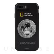 e0c32f0bee 【iPhone8 Plus/7 Plus ケース】Global Seal Metal-Deco Case (ブラック