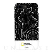 【iPhone8 Plus/7 Plus ケース】Topography Case Double Protective (ホワイト)