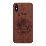 【iPhoneXS/X ケース】130th Anniversary case Nature Wood (ローズウッド)