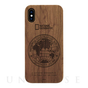【iPhoneXS/X ケース】130th Anniversary case Nature Wood (ウォルナット)