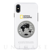 【iPhoneXS/X ケース】Global Seal Metal-Deco Case (ホワイト)
