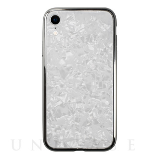 【iPhoneXR ケース】Glass Shell Case for iPhoneXR (White)