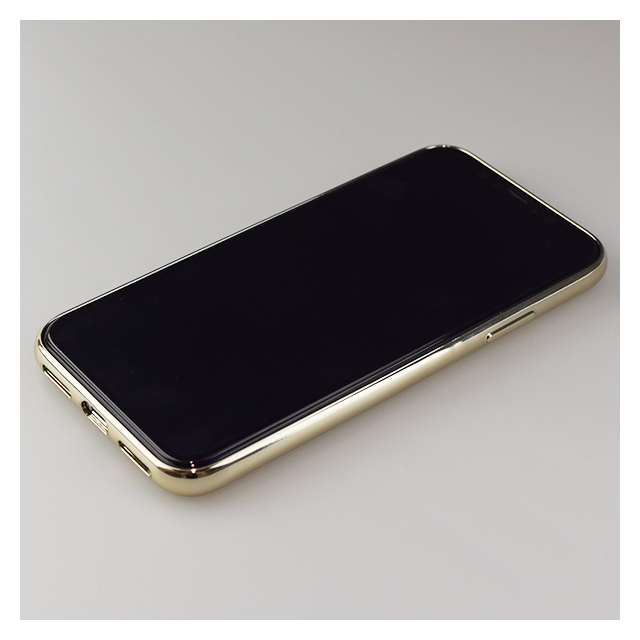 【iPhoneXS/X ケース】Glass Shell Case for iPhoneXS/X (Gold)サブ画像