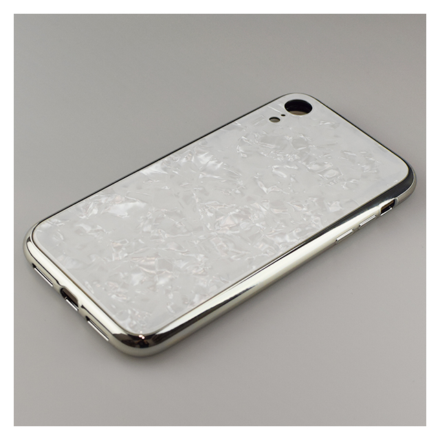 【iPhoneXR ケース】Glass Shell Case for iPhoneXR (White)サブ画像