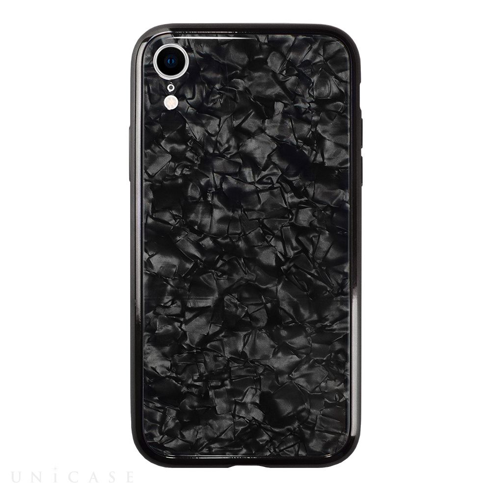 【iPhoneXR ケース】Glass Shell Case for iPhoneXR (Black)