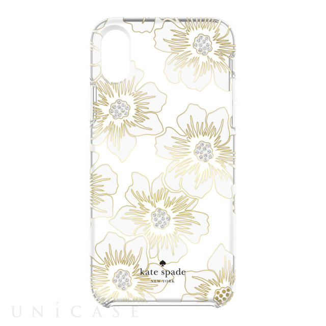 【iPhoneXS Max ケース】Protective Hardshell -REVERSE HOLLY HOCK