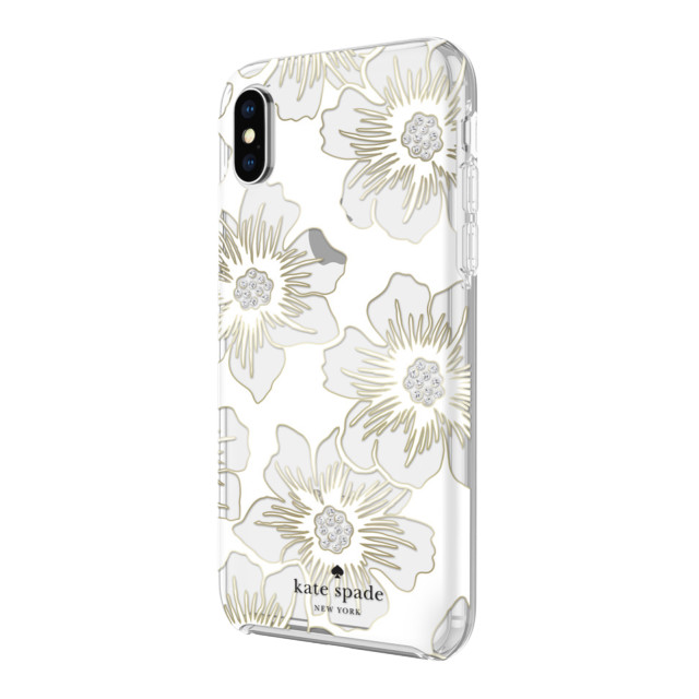 【iPhoneXS/X ケース】Protective Hardshell -REVERSE HOLLY HOCK