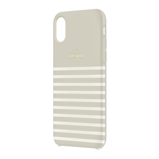 【iPhoneXR ケース】Protective Hardshell -FEEDER STRIPE clocktower/cream/goldサブ画像