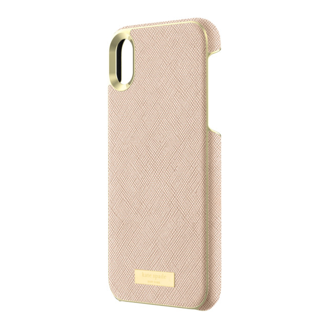 【iPhoneXR ケース】INLAY WRAP -SAFFIANO rose goldサブ画像