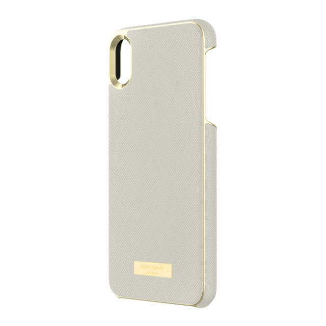 【iPhoneXS Max ケース】INLAY WRAP -SAFFIANO clocktowerサブ画像