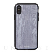 【iPhoneXS/X ケース】CLEAR COAT (WOOD GRAIN)