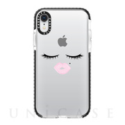 【iPhoneXR ケース】Impact Case (Face)/Black Bumper