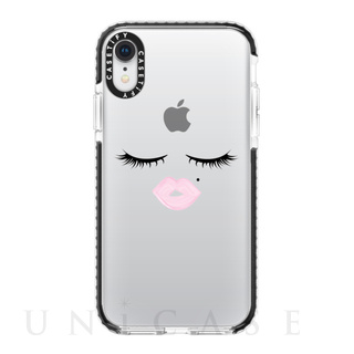 【【iPhoneXR ケース】Impact Case (Face)/Black Bumper