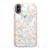 【iPhoneXS/X ケース】Impact Case (Blush Peonies Wedding Flowers Romantic Spring)/Pink Bumper