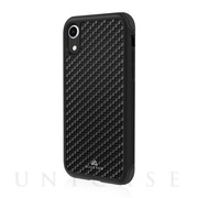 【iPhoneXR ケース】Robust Case Real Carbon (Black)