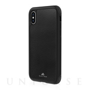 【iPhoneXS/X ケース】Robust Case Real Leather (Black)