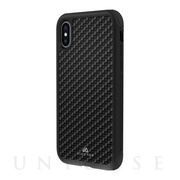 【iPhoneXS/X ケース】Robust Case Real Carbon (Black)